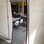 Doorgang zelfklevende ritssluiting ZipWall stofwand