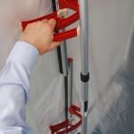 Side Clamp and Foam Rail - ZipWall