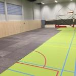 Sportvloerbescherming met Textielvezelplaten