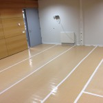 Stucloper - witte PVC tape t.b.v. catering