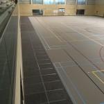 Tijdelijke sportvloerbescherming - Bouwvloer ademend